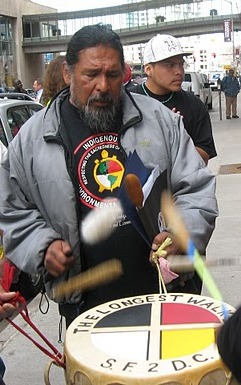 American Indian Movement's Jimbo Simmons